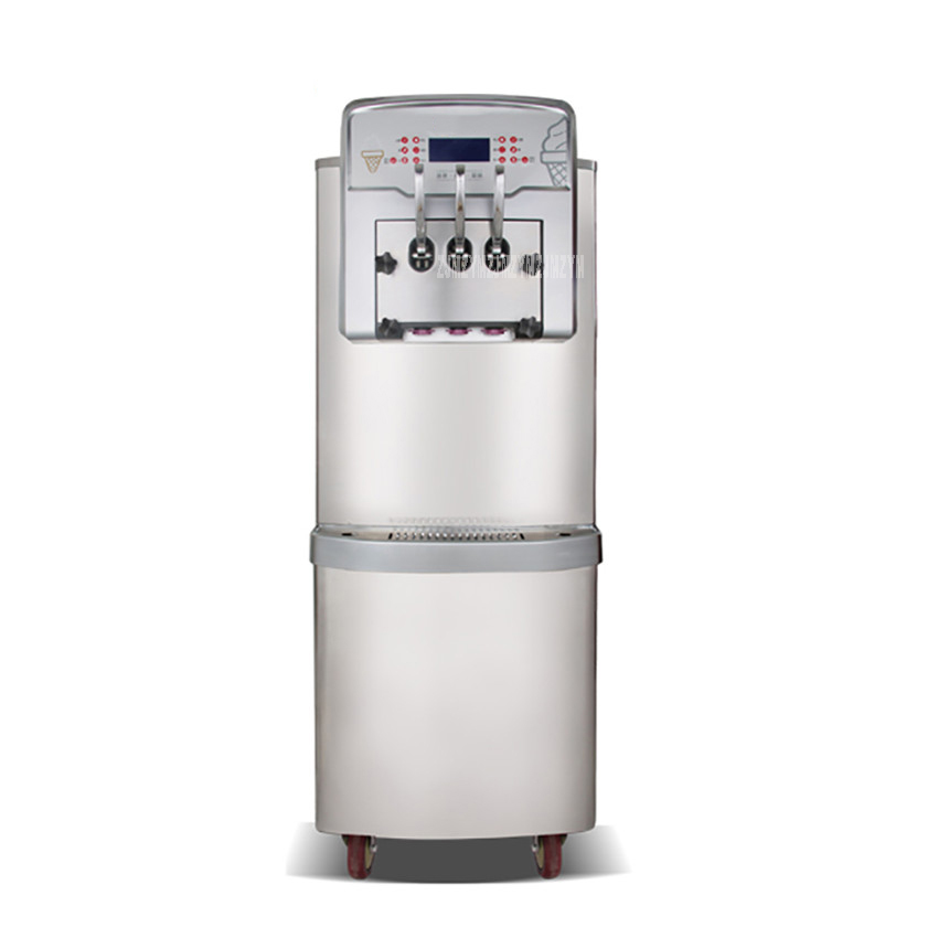 BX568CTREL 220V 4200W Strong Output Power Double System Full Stainless Steel Commercial Soft Ice Cream Make Machine Cream Maker