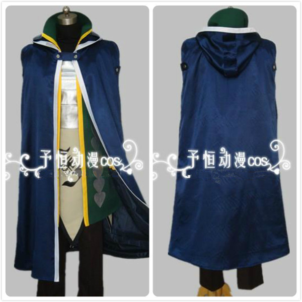 HOT New Arrival Fairy Tail Jellal Fernandes Gerard cosplay costume