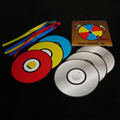 Color Changing - Vanishing CD paper bag colour changing cd magic trick stage prop CDs change color magic toys 81189