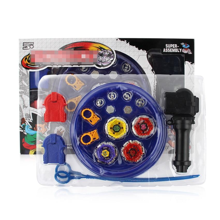 Toupie beyblade explosão conjunto brinquedos beyblade arena beyblade fusão de metal 4d com lançador girando topo beyblade brinquedos