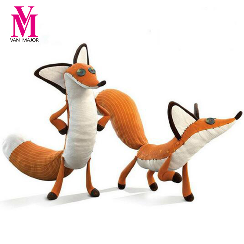 1pcs Movie Le Petit Prince Little The Prince And The Fox Stuffed Animals Plush Toys Doll Stuffed Education Toys Kids Gift 30cm cute korea pororo little penguin plush toys doll pororo with glasses plush soft stuffed animals toys for children kids gift