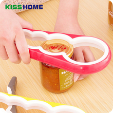 4 in 1 Creative Handy Anti-slip Can Lid Screw Opener Bottle for Pop/Beer Jar Kitchen Twist Tool Excellent Quality