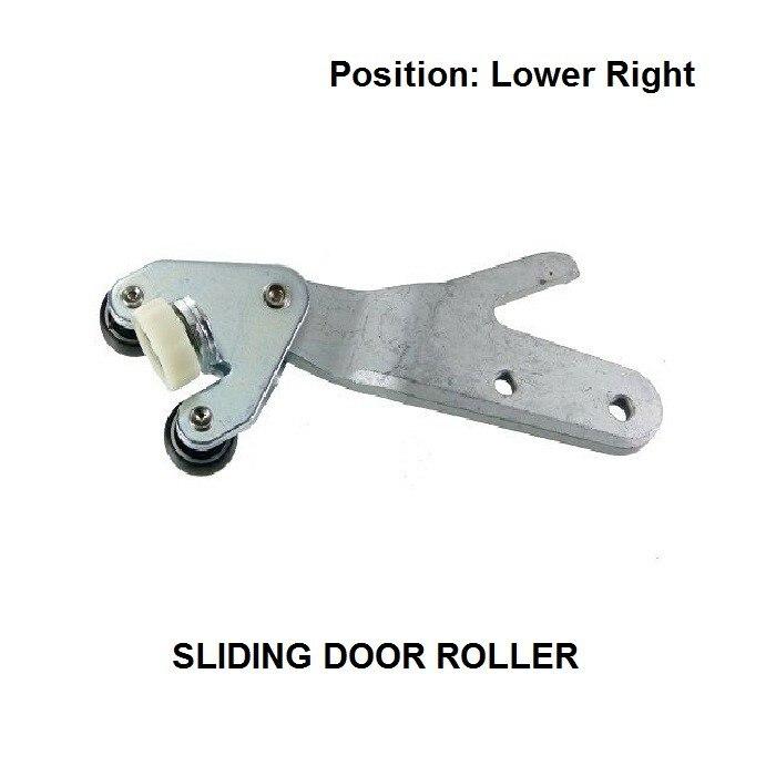 FOR CITROEN RELAY 1994-2002 LOWER RIGHT SIDE SLIDING DOOR ROLLER FULL UNIT OE#1334554080