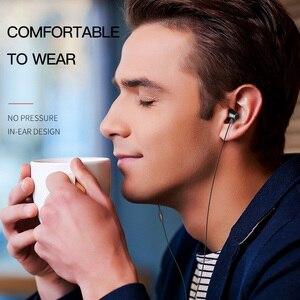 Image 3 - HOCO métal haute qualité HD clair Super basse stéréo dans loreille filaire écouteurs 3.5mm filaire casque avec micro pour iPhone Xiaomi Samsung