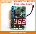 Бесплатная доставка 5 шт./лот XK-001T-1 DC12V реле Времени доска рассчитывать испытательное напряжение время цикла автомобиля зарядки таймер совет по защите