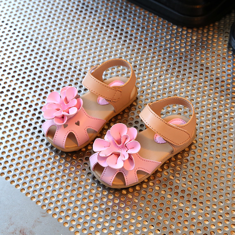 Girls Summer Princess Flower Sandals 3