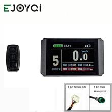 Ejoyqi Kt Ebike LCD8H Display 24V 36V 48V Usb Sm Waterdichte Connector Elektrische Fiets Accessoires E fiets Lcd Display