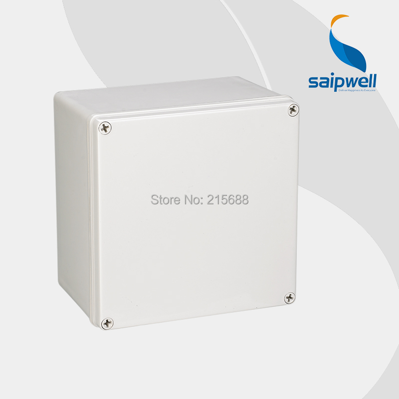 Saipwell Good Quanlity IP66 Waterproof project box enclosure 200 200 130mm DS AG 2020