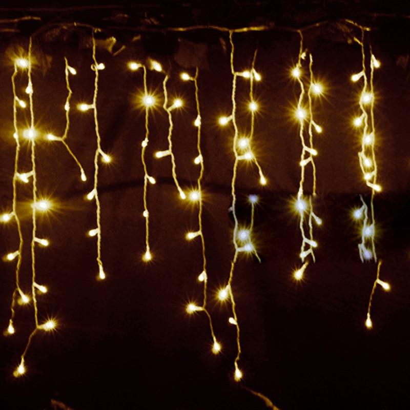 Lichterketten Weihnachtsaußendekoration 4m hängen 0.4-0.6m - Partyartikel und Dekoration - Foto 3