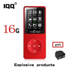 2018 nouvelle version Lecteur MP3 Intégré 16 GB peut étendre jusqu'à 128 GB et Haut-Parleur avec 1.8 Pouce Écran peut jouer 80 h Portable Walkman