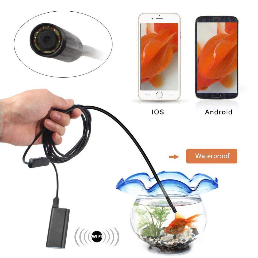 Smarteye HD Waterproof Camera with Iphone Wifi Endoscope