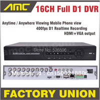DVR 16 Channel Stand Alone DVR Full D1 CCTV DVR Recorder With HDMI VGA 16 CH