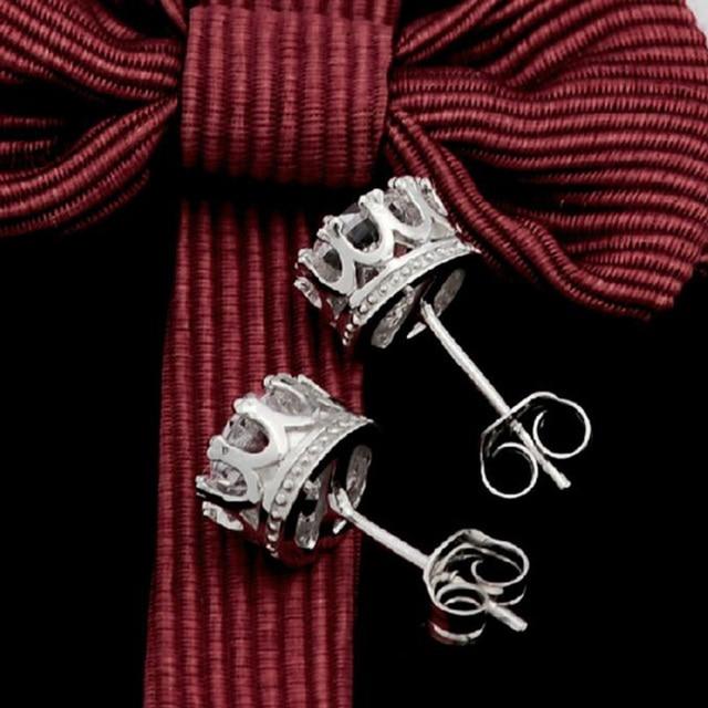 Fashionable Full Crystal Stud Earring With CZ Diamonds Lady Crown Earring Trendy Coroa Brincos Pendiente Women.jpg 640x640 - Fashionable Full Crystal Stud Earring With CZ Diamonds Lady Crown Earring Trendy Coroa Brincos Pendiente Women Men Earrings