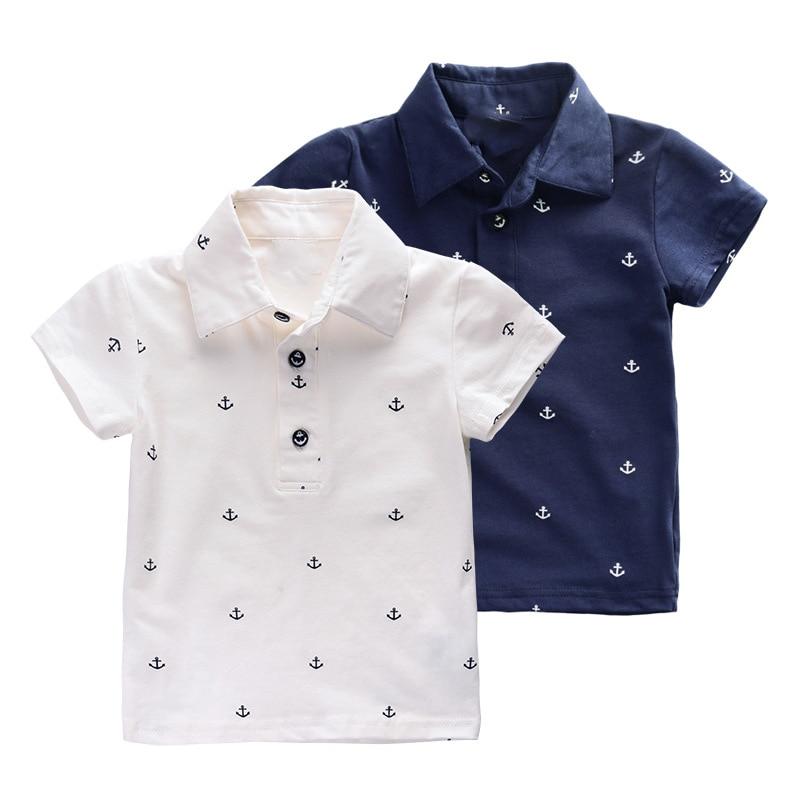 b2d215527b4 ¡ Nuevo! los 2016 niños del verano camisas de polo estilo cómodo vistiendo  estilo polo de manga corta camisas ocasionales del bebé del muchacho ropa de  los ...