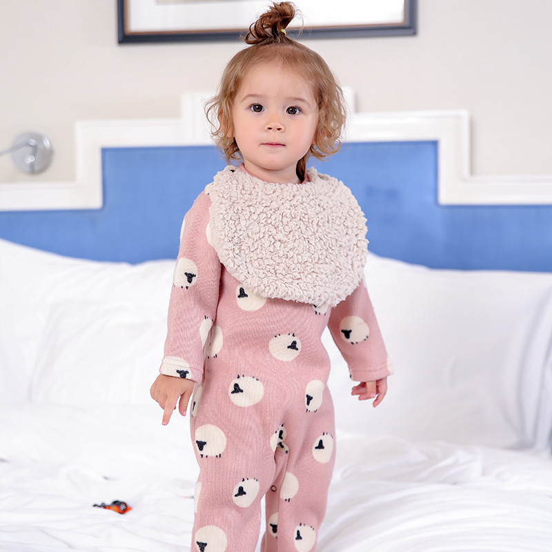 2018 Hot selling new font b baby b font Girls Clothes warm fashion cotton font b