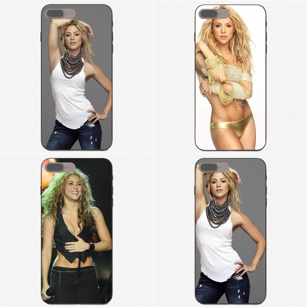 The <font><b>Sexy</b></font> <font><b>Lady</b></font> Beauty Shakira For Samsung Galaxy A3 A5 A6 A6s A7 A8 A9 <font><b>Star</b></font> Plus 2016 2017 <font><b>2018</b></font> Personalized Print Phone Case image