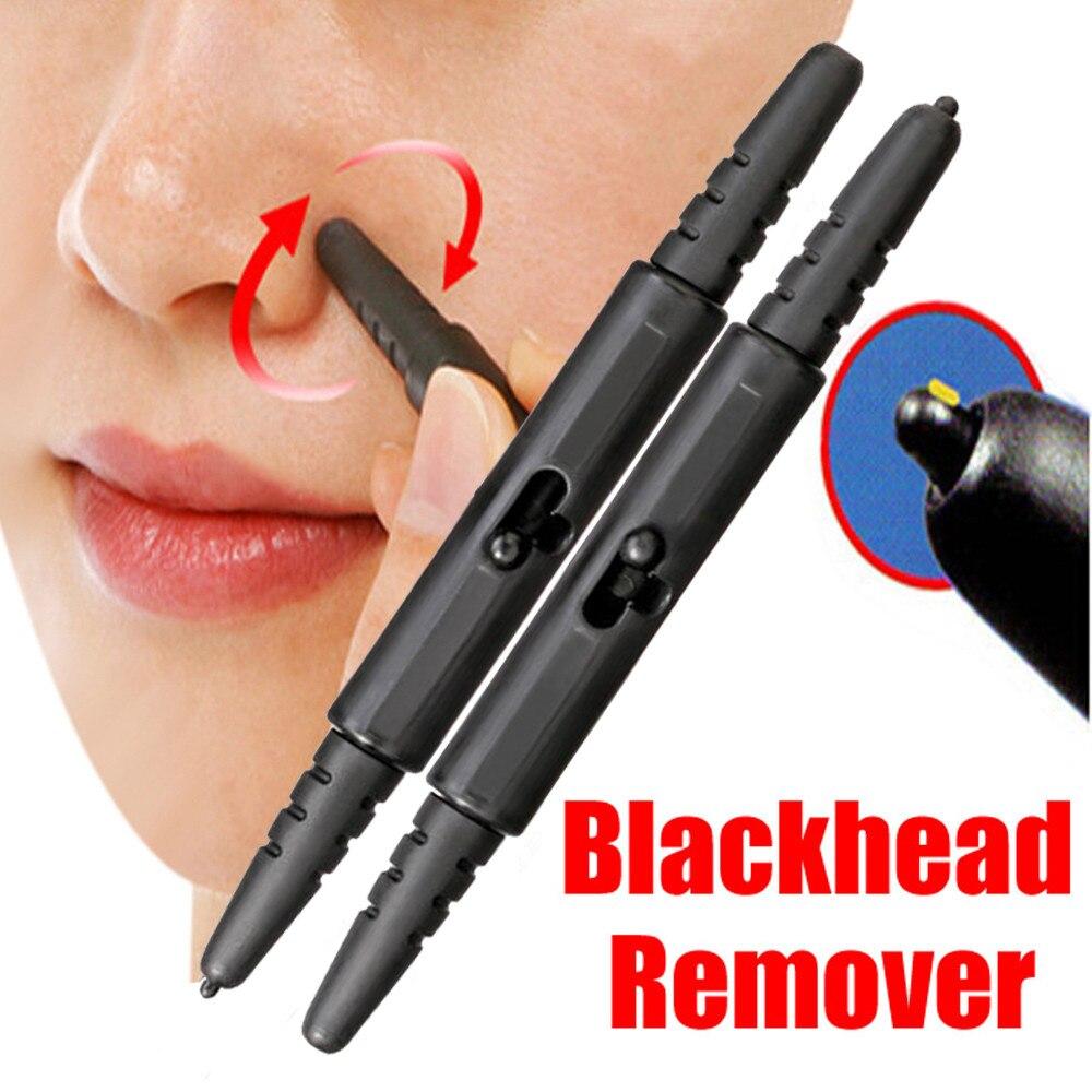 Распродажа 2 шт. ручка Тип макияж нос Extractor Стик для удаления угрей, акне очиститель пор безболезненно и легко Применение подарок дропшиппин...
