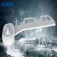 Self Cleaning Nozzle Toilet Bidet Attachment Adjustable Fresh Water Non-Electric Mechanical Toilet washing tool ORR non electric bidet toilet attachment fresh water mechanical sprayer ass washer implement simple clean body irrigador orr