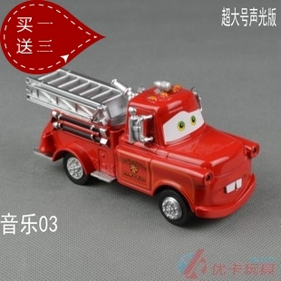 Oversized alloy toy car acoustooptical WARRIOR toy die