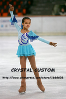 Figure Skating Dress For Children Graceful New Brand Competition Figure Skating Dress Custom DR4008
