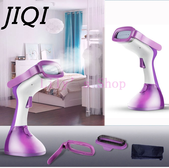 Подробнее о MINI handheld electric Garment Steamer household ironing machine travelling portable Clothes steaming iron with brush EU US plug handheld electric garment steamer with brush clothes ironing machine household mini steam hanging iron travel for cloth eu plug