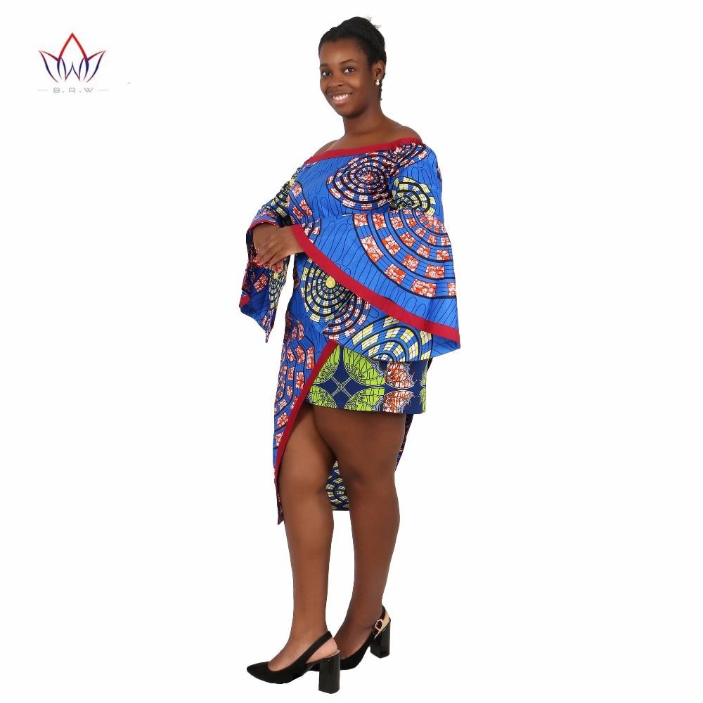 BRW Vêtements africains 2 Pièce Ensemble Femmes Robe Costume Crop - Vêtements nationaux - Photo 2