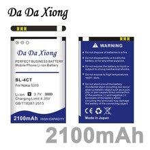 Da Xiong 2100mAh BL-4CT BL4CT литий-ионный аккумулятор для телефона Nokia 5310 5630XM 7212C 7210C 6600F