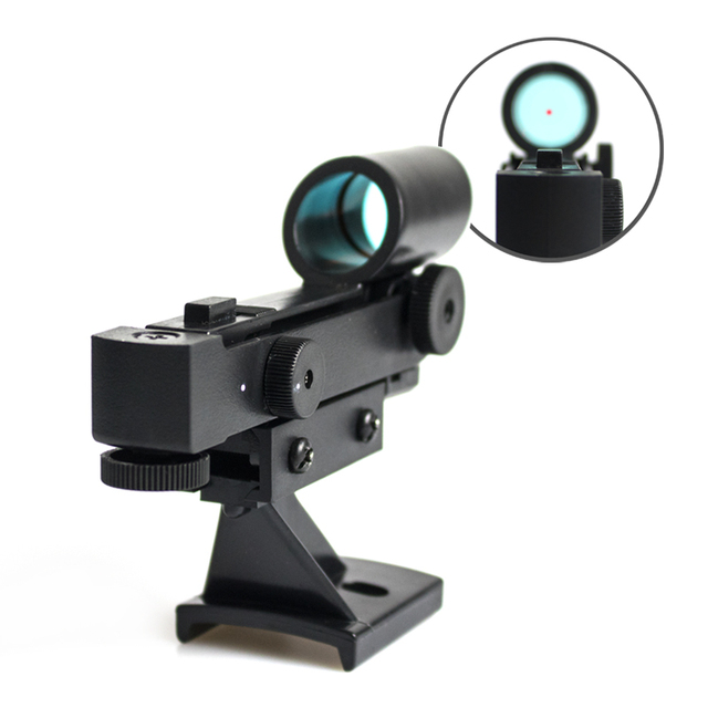 Telescope Star Pointer Red Dot Finder Scope Finderscope Starpointer for Astronomical Telescopes With Slide-in bracket
