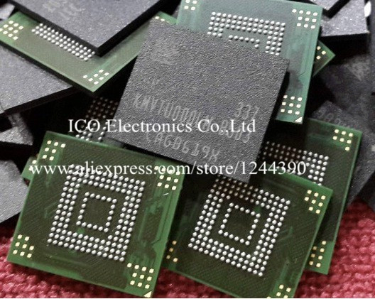 US $10 7 |For Samsung Note2 N7100 eMMC Memory Nand flash chip IC KMVTU000LM  B503 Programmed With Firmware Data-in Integrated Circuits from Electronic
