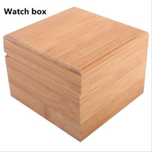 Bamboo and wood materials, exquisite watches packing box, beautiful atmosphere of leisure fashion, men's lady's are available