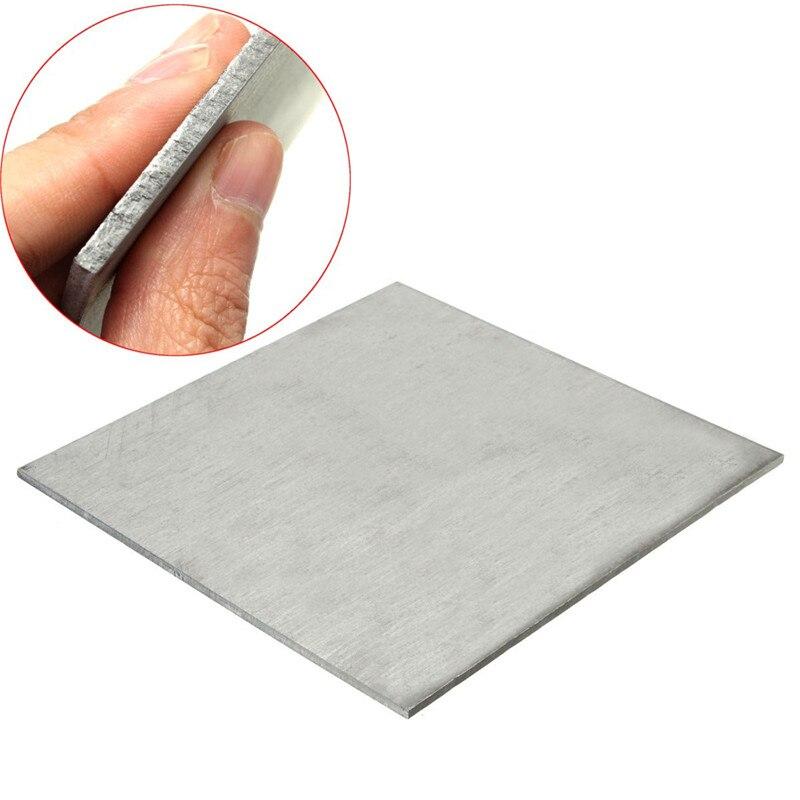 """Titanium Ti Grade 5 Gr.5 GR5 ASTM B265 Plate Sheet 0.8mm x 100mm x 150mm 4/"""" X 6/"""""""