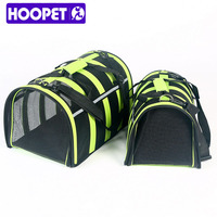 HOOPET Go Out Portable Breathable Collapsible Pet Bag Dog Carriers Pet Products Spring And Summer