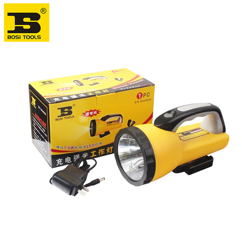 ФОТО  BOSI 13 LED Rechargeable Lantern work light torch 110LM Handle Camping Hiking Spotlight