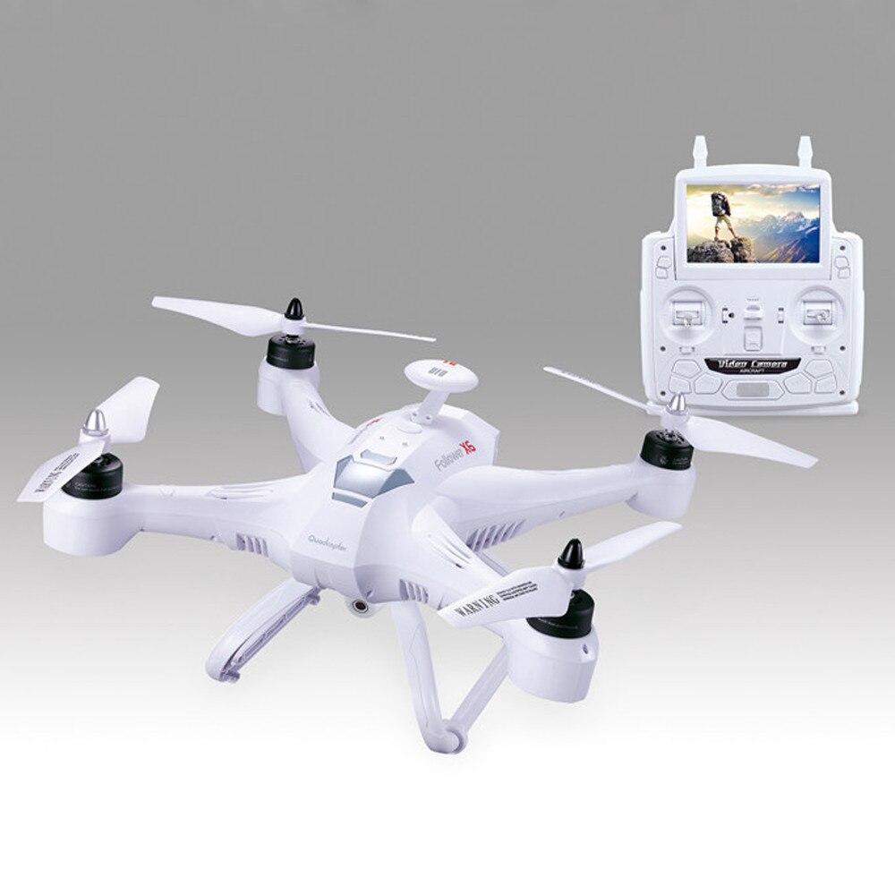 Глобальный Drone X161 5.8 ГГц FPV-системы HD 2mp Cam 2.4 ГГц 4ch 6 оси гироскоп Quadcopter Дрон HD аэрофотосъемки вертолет