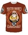 Anime Dragon Ball Z camiseta Goku / Vegeta / mestre kame t-shirt Super Saiyan 3D mulheres homens verão t-shirt