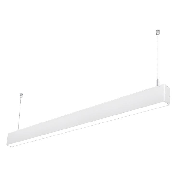 Livraison gratuite nouvelle lumière chine fabricant 30 w suspendu faisceau lumineux linéaire led 1200mm led latte raccord 4 pieds faisceau lumineux linéaire led