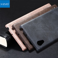 X Level Original Phone Case For Sony Xperia XA F3112 XA1 Dual G3112 Vintage Leather Soft