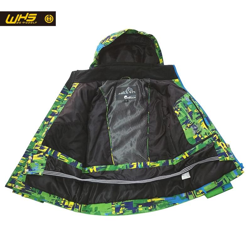 WHS Տղաների լեռնադահուկային սպորտային - Սպորտային հագուստ և աքսեսուարներ - Լուսանկար 3