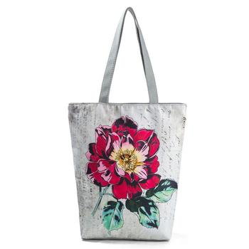 Miyahouse  Eco Reusable Foldable Women's Shoulder Shopping Bag Ladies Casual Tote Bag Female's Handbag With Large Capacity 4