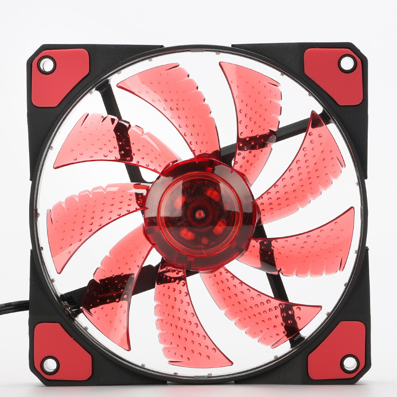 12cm Rgb Fan Cooler Ultra Silent Led Case Fans 33 Leds Light Up