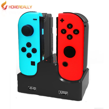 HOMEREALLY Charging Standtion For Nintendo Switch Charging Dock For Nintendo Switch NS N-Switch Video Game Console Accessory