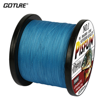 2016 New 500M/547Yds GOTURE Brand Pisfun Series SuperPower Japan Multifilament PE Braided Fishing Line 8 10 20 30 40 60LB