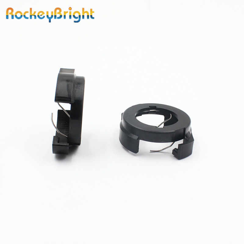 Rockeybright LED H7 Lamp Houders clips voor Renault Megane 4 H7 led koplamp adapter voor Alfa HID LED socket voor VW passat B6