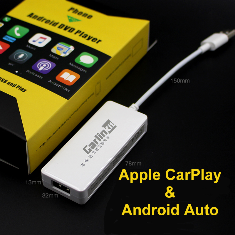 US $43 2 40% OFF|Carlinkit Apple CarPlay Dongle for Android system car  Stereo head unit with Android Auto-in TV Receiver for Car from Automobiles  &