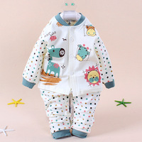 2014 new hot selling baby boy girl sets underwear baby suits clothing spring summer autumn lovely bear free shipping