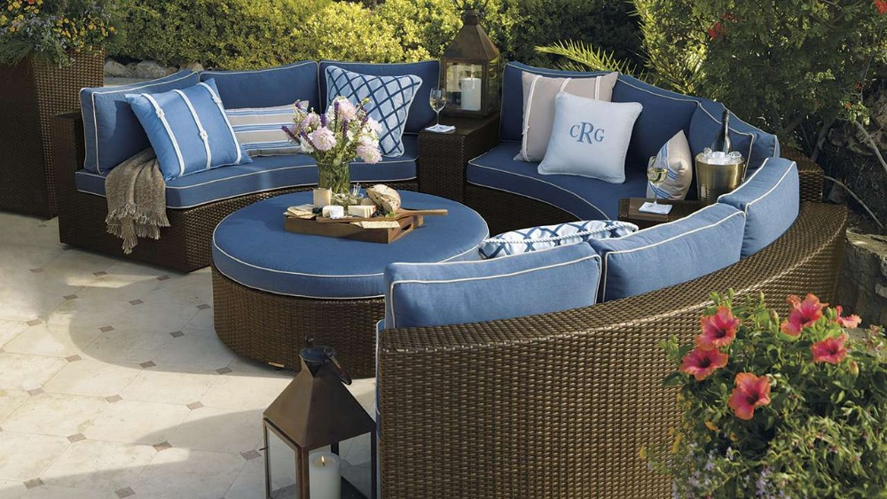 2017 hot sale outdoor high end synthetic rattan garden for Furniture year end sale 2017