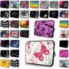 Flowers Butterfly Animals Notebook Zipper Inner Laptop Bag 15 6 Inch Unisex Computer Protective 15 15