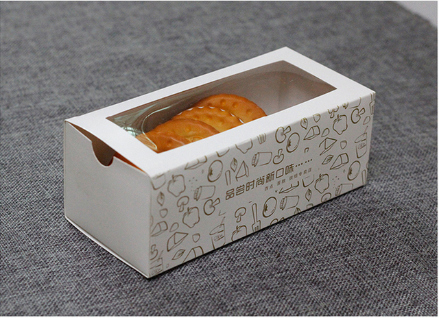 Aliexpress.com : Buy 17.5*8*6cm White rectangle Drawer cake boxes ...
