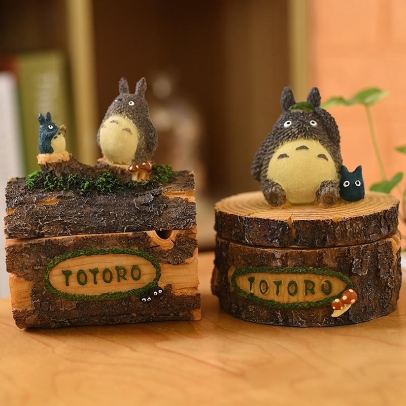 Decoration Japanese-Crafts Anime Creative Resin Z355 Ashtray Doll-Totoro Valentines