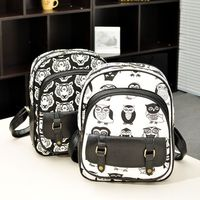 factory direct wholesale new backapck owl stitch Backpack fashion shoulder bag